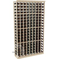 Professional Series - 6 Foot - 9 Column Cellar Rack - Pine Showcase
