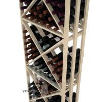 Professional Series - 6 Foot - Lattice X-Cube Storage Rack - Pine Detail