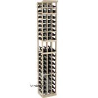 Professional Series - 7 Foot - 3 Column Display Rack - Pine Showcase