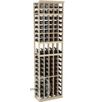 Professional Series - 7 Foot - 5 Column Display Rack - Pine Showcase