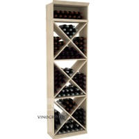 Professional Series - 7 Foot - Solid X-Cube Storage Rack - Pine Showcase