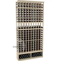 Professional Series - 8 Foot - 10 Column Display Rack - Pine Showcase