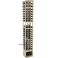 Professional Series - 8 Foot - 3 Column Display Rack - Pine Showcase