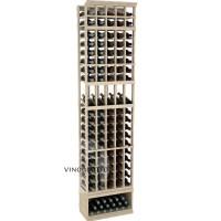 Professional Series - 8 Foot - 5 Column Display Rack - Pine Showcase