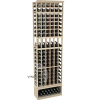 Professional Series - 8 Foot - 6 Column Display Rack - Pine Showcase