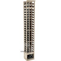 Professional Series - 8 Foot - 3 Column Cellar Rack - Pine Showcase