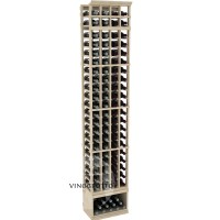 Professional Series - 8 Foot - 4 Column Cellar Rack - Pine Showcase