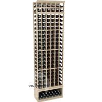 Professional Series - 8 Foot - 6 Column Cellar Rack - Pine Showcase