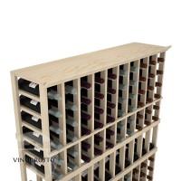 Professional Series - 10 Column Top Shelf - Pine