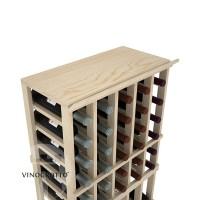 Professional Series - 5 Column Top Shelf - Pine