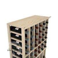 Professional Series - 6 Column Top Shelf - Pine