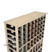 Professional Series - 8 Column Top Shelf - Pine