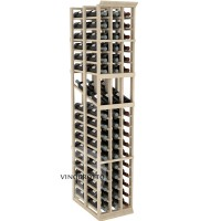 Professional Series - 6 Foot - Double Deep - 3 Column Display Rack - Pine Showcase