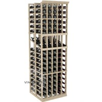 Professional Series - 6 Foot - Double Deep - 5 Column Display Rack - Pine Showcase