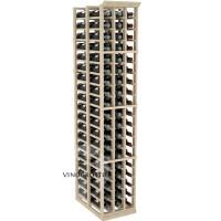 Professional Series - 6 Foot - Double Deep - 3 Column Cellar Rack - Pine Showcase