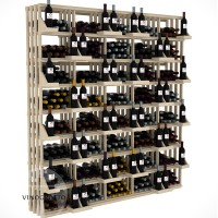 Retail Value Series - 520 Bottle Retail Wall Display - Pine Showcase