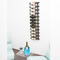 Vintage View WS41 - 12 Bottle Wine Rack - Matte-Black