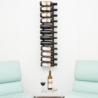 Vintage View WS42 - 24 Bottle Wine Rack - Satin-Black