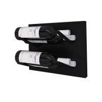 Stact L-Type Wine Rack - Blackout