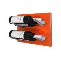 Stact L-Type Wine Rack - Electric Orange