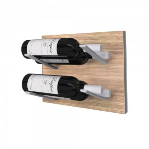 Stact L-Type Wine Rack - Oak