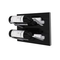 Stact L-Type Wine Rack - Piano Black