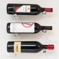 Vino Pins Acrylic Wall-Mounted Wine Rack (1 Bottle)