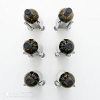 VintageView Vino Rails Designer Kit - 6 Bottles (Milled Aluminum)