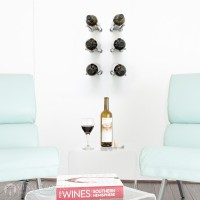 VintageView Vino Rails Designer Kit - 6 Bottles (Milled Aluminum)