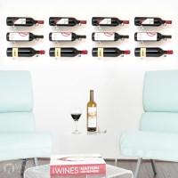 VintageView Vino Pins Designer Kit - 12 Bottles (Clear Acrylic)