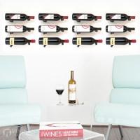 VintageView Vino Pins Designer Kit - 12 Bottles (Anodized Black)