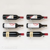 VintageView Vino Pins Designer Kit - 6 Bottles (Clear-Acrylic Showcase)
