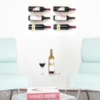 VintageView Vino Pins Designer Kit - 6 Bottles (Clear Acrylic)