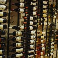 VintageView 30 Bottle Wine Rack – WS52 – 5 Foot (Satin Black)